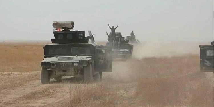 Irak: offensive contre l'un des deux derniers bastions de l'EI
