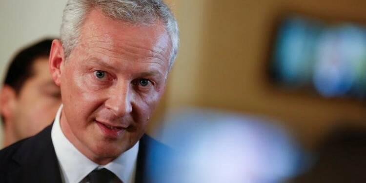 Le fonds pour l'innovation générera 200 millions d'euros par an, dit Le Maire