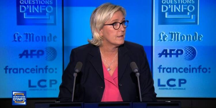 """FN: Marine Le Pen """"respecte"""" la décision de Philippot"""