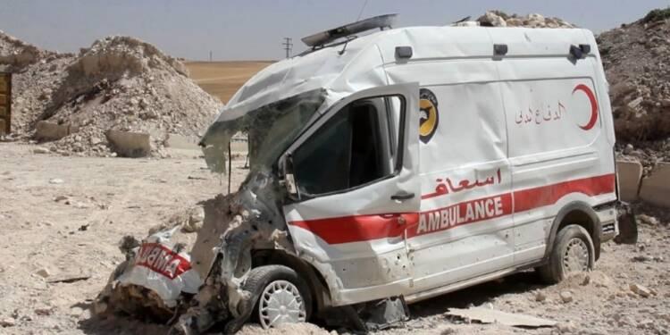 Syrie: raids aériens sur un centre des Casques blancs à Idleb