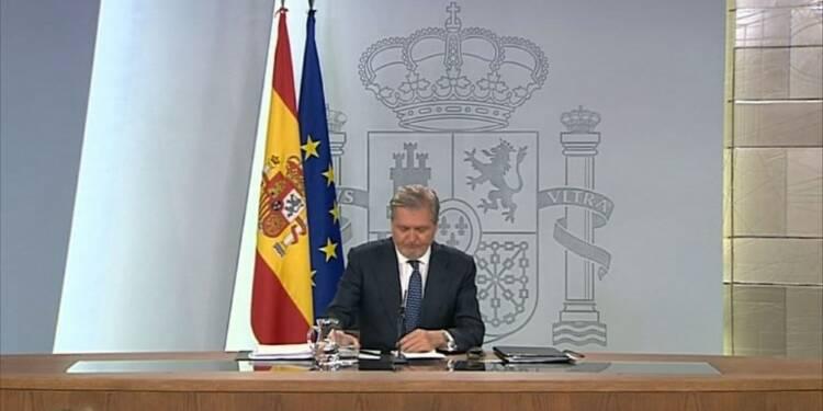 """Catalogne: """"un référendum illégal qui n'aura pas lieu"""" (Madrid)"""