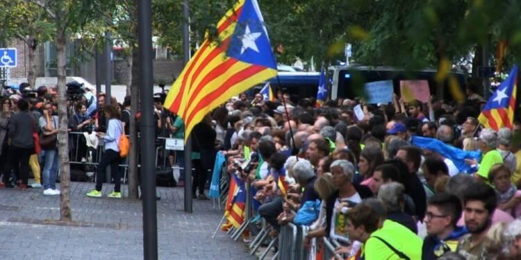 Référendum : les indépendantistes catalans restent mobilisés