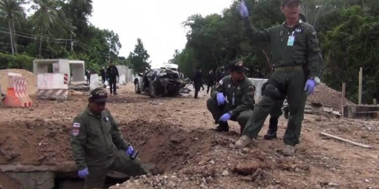 Thaïlande: quatre soldats tués par une bombe dans le sud rebelle