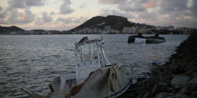 """Le """"Tonnerre"""" à pied d'oeuvre à Saint-Martin, une île qui reprend vie"""