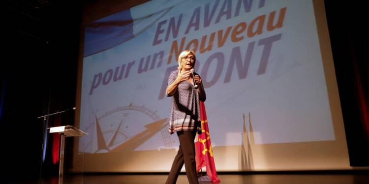 Marine Le Pen salue la percée de l'AfD