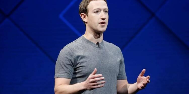 Zuckerberg renonce à créer une nouvelle classe d'actions Facebook