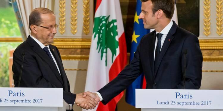 Macron appelle à renforcer le soutien à l'armée libanaise