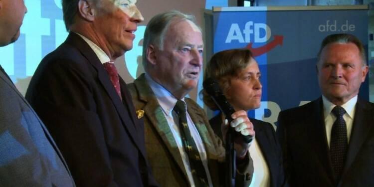 """Allemagne: la droite nationaliste AfD veut """"changer ce pays"""""""