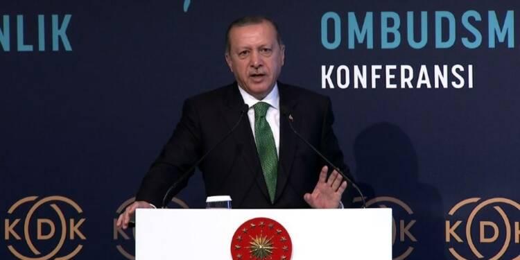 Erdogan veut sanctionner les kurdes d'Irak