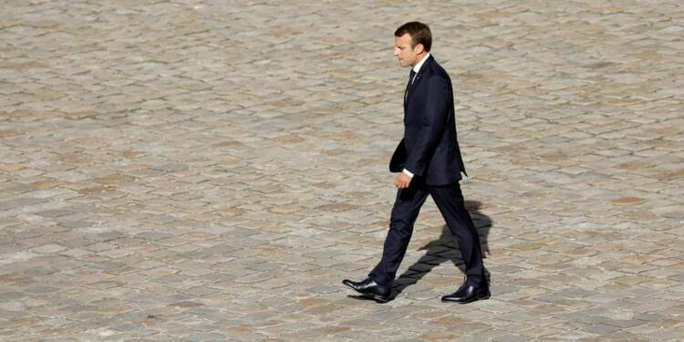"""Macron lancera mardi """"un processus"""" pour la zone euro, selon plusieurs sources à l'Elysée"""