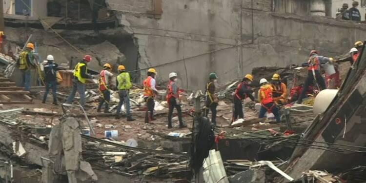Mexique: une semaine après le séisme, les recherches continuent