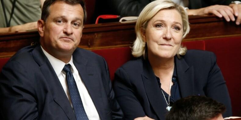 Assistants du FN: Audition express de Louis Aliot au pôle financier
