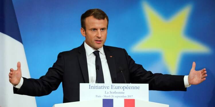 Emmanuel Macron plaide pour une taxation européenne des GAFA