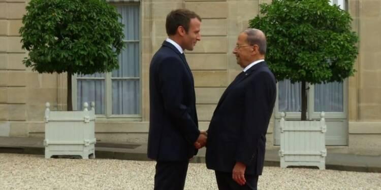 Visite d'Etat du président libanais Michel Aoun