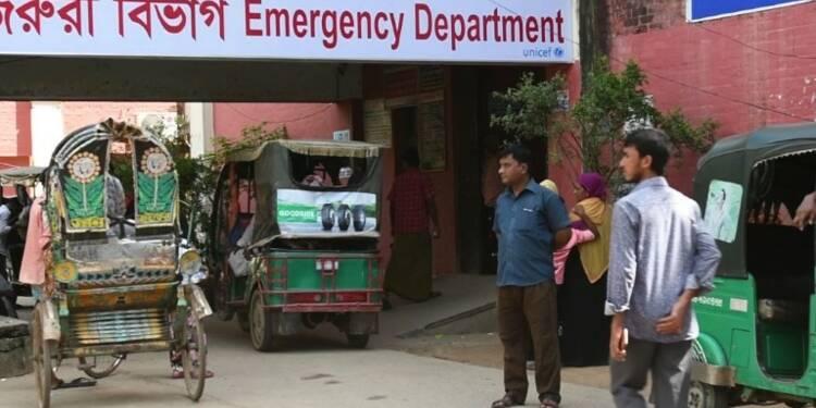 Rohingyas: les hôpitaux surchargés au Bangladesh