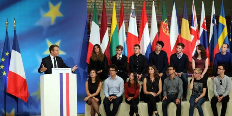 Macron propose à Merkel et ses partenaires de refonder l'Europe
