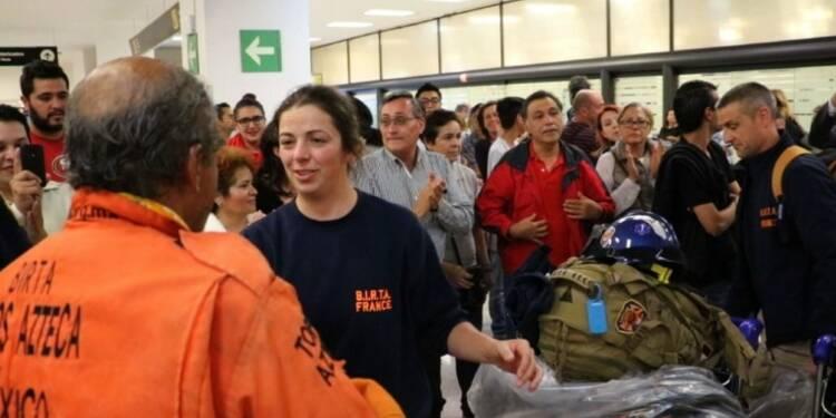 Des pompiers français arrivent au Mexique pour aider les secours
