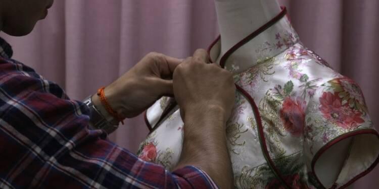 A Taïwan, des coututiers font vivre la traditionnelle robe qipao
