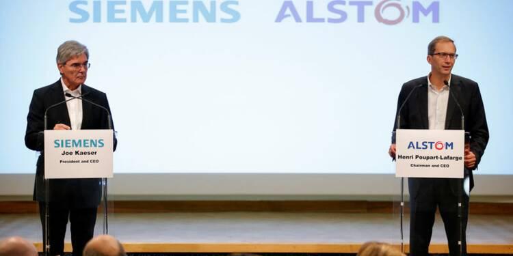 Siemens Alstom pense franchir aisément l'obstacle de la concurrence