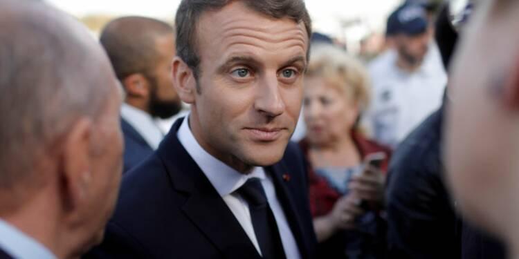 Premier test pour les propositions de Macron sur l'Europe à Tallinn