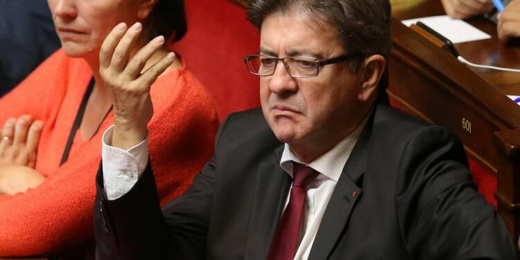 """Mélenchon accuse de """"défaire la France"""" un Philippe """"déçu"""""""
