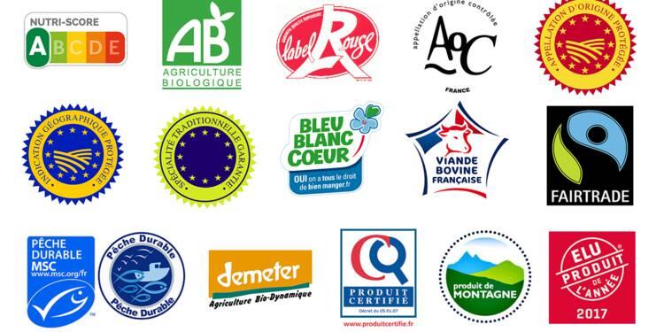 label rouge  aoc  produit de l u0026 39 ann u00e9e    comment d u00e9coder les labels alimentaires