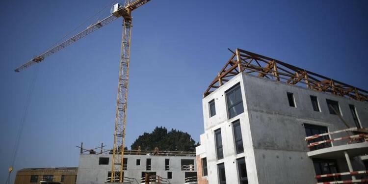 Les mises en chantier en France en hausse de 17,1% sur un an