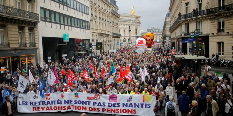 Les retraités mobilisés contre la hausse de la CSG