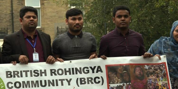 En Angleterre, les Rohingyas appellent à la mobilisation