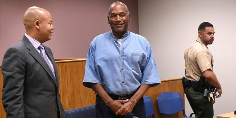 O.J. Simpson libéré de prison après neuf ans d'incarcération
