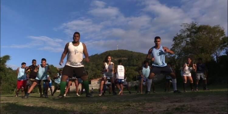 Le rugby symbole d'espoir dans une favela de Rio