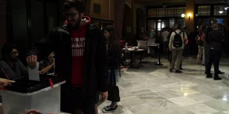Référendum catalan: le gouvernement régional crie victoire