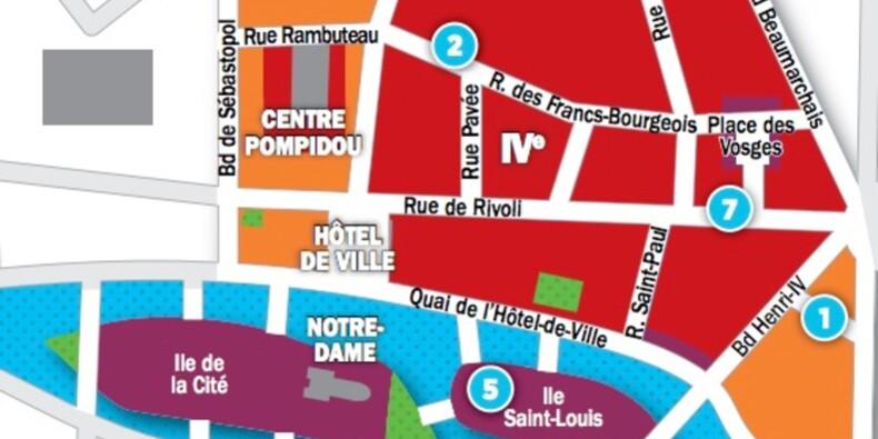 Immobilier à Paris : les prix, rue par rue, dans les 3ème et 4ème arrondissements