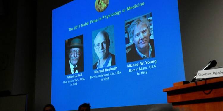 Le Nobel de médecine à trois spécialistes de l'horloge biologique