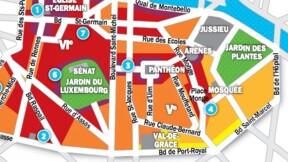 Immobilier à Paris : les prix, rue par rue, dans les 5ème et 6ème arrondissements
