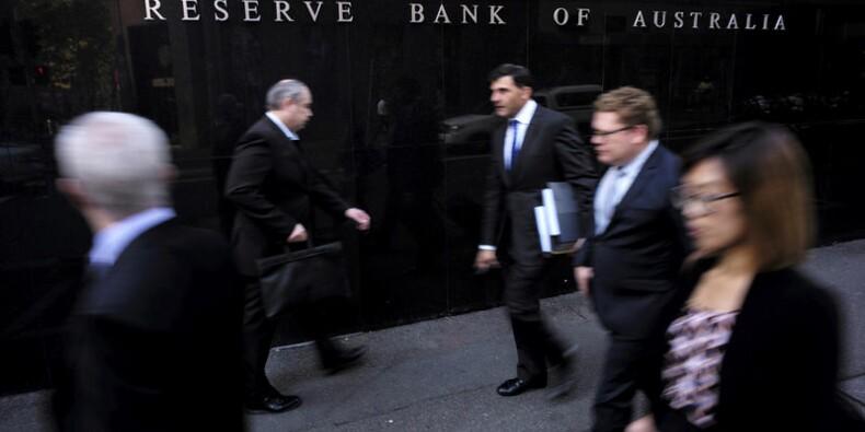 Australie: Les taux toujours inchangés à leurs plus bas record