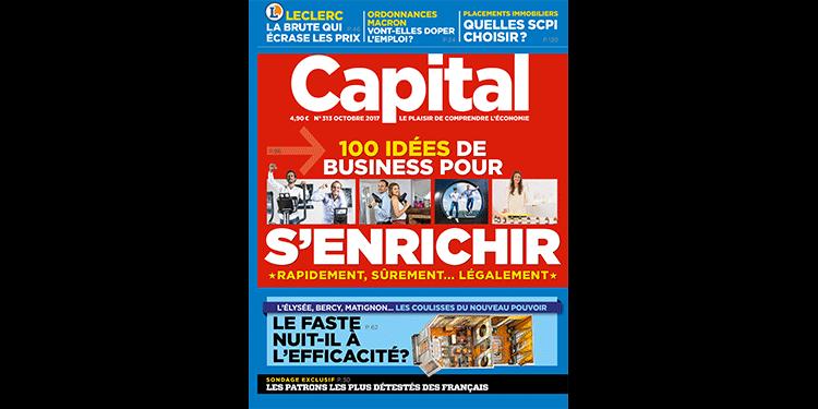 Vos magazines Capital, en kiosque ce mois-ci