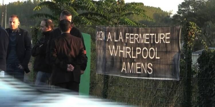 François Ruffin (LFI) à Amiens avec les salariés de Whirlpool