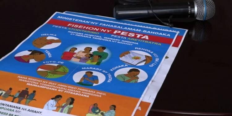 Epidémie de peste à Madagascar: l'OMS inquiète mais rassurante