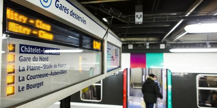 RER, Transilien : sur quelle ligne les trains sont le plus en retard ?