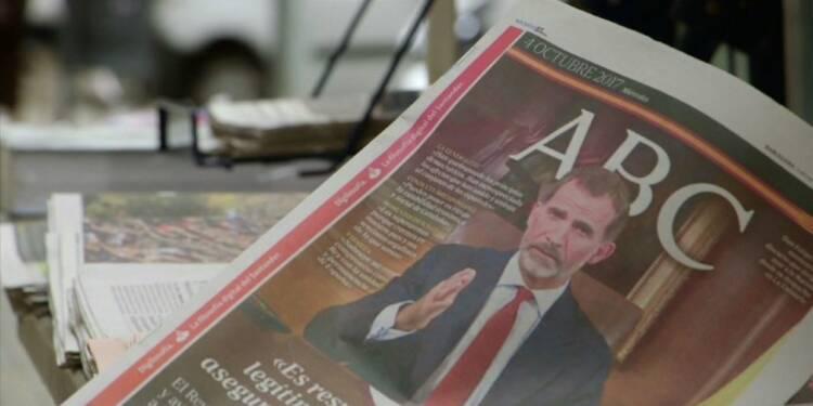 Catalogne: réactions de Barcelonais au discours du roi
