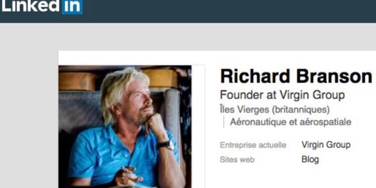 Les conseils carrière de Richard Branson
