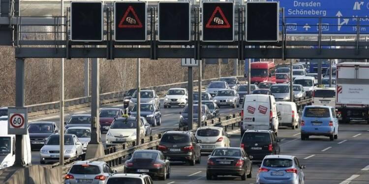 Le marché automobile européen en baisse de 2,8% en septembre