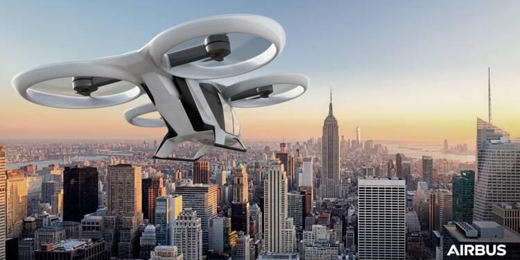 Le taxi volant d'Airbus devrait effectuer son premier vol fin 2018