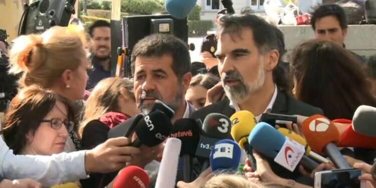 Les séparatistes catalans jugés pour sédition restent libres