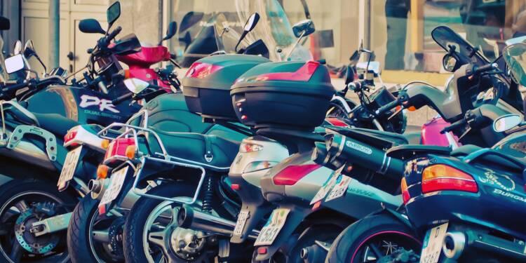 Un quart des motards se sont fait voler leur véhicule ! Comment s'assurer