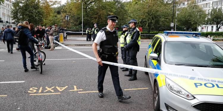 Londres: la collision près du musée pas traitée comme un acte terroriste
