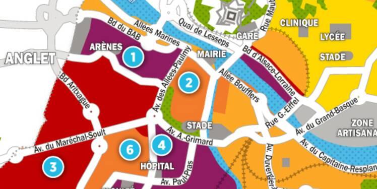 Immobilier à Bayonne : la carte des prix 2017