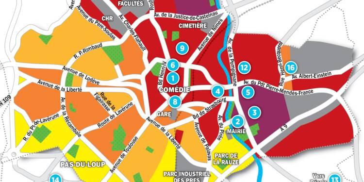 Immobilier à Montpellier : la carte des prix 2017