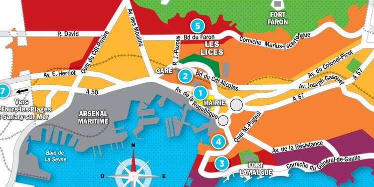 Immobilier à Toulon : la carte des prix 2017